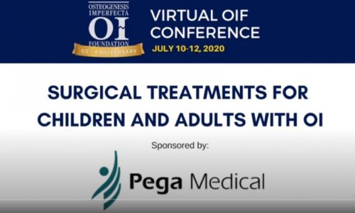 PEGA MEDICAL IS HONORED TO SPONSOR THE OIF 2020 VIRTUAL CONFERENCE